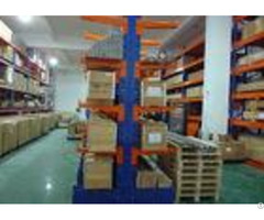 Industrial Steel Storage Rack Powder Coating Finish Cantilever Racking Systems