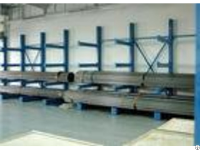 Customized Metal Single Sided Cantilever Rack Construction Material Storage Racks