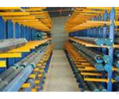 Heavy Duty Industrial Cantilever Pallet Racking For Timber Lumber Long Pipes