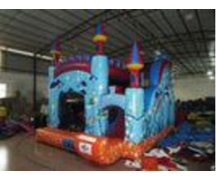 Digital Printing Commercial Inflatable Combo With Undersea Theme