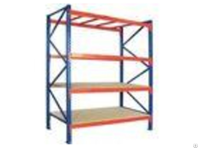 Q235b Steel Warehouse Heavy Duty Storage Racks Pallet Racking With Plywood Board