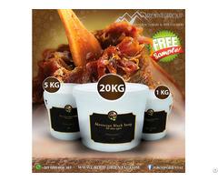 100% Organic Moroccan Black Soap