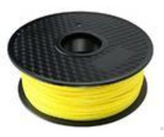 High Temperature Fluorescent Yellow Printer 3d Plastic With Polylactic Acid
