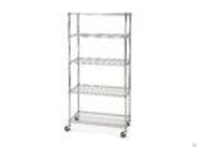 Stainless Steel 14d Restaurant Kitchen Nsf 5 Shelf Wire Shelving ...
