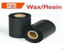 Compatible Black Anti Static Resin Barcode Ribbon With 10mm 300mm Size