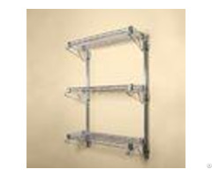 "14"" Deep Wall Mounted Cantilever Brackets Adjustable Residential Shelving Storage Racking"