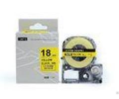 Sc6yw Sc9yw King Jim Label Tape Cassetteyellow On Black 12mm 24mm Refill