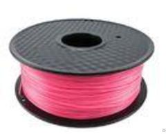 Elastic Fluorescent Pink Pla 3d Printer Filament 1 75mm Diameter Acrylic