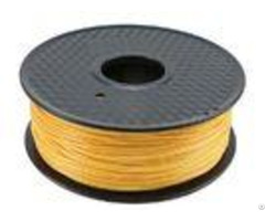 Elastic Golden 1 75mm Hdpe Pla 3d Printer Filament Environmentally Friendly