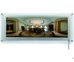 "34"" X 11"" Backlit Crystal Led Light Box 2835 Smd Strip For Restuarant Menu Display"