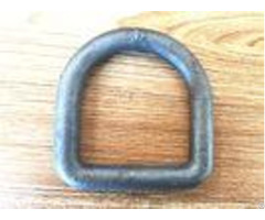 Lifting Safety D Rings Forged Lashing Buckle High Strength Carbon Alloy Steel Material