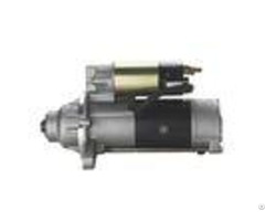 Wheel Loader Mitsubishi Electric Starter Motorcopper Or Aluminium Material