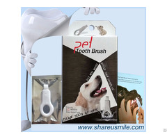 Pet Toothbrushes Set For Dental Care Dog Teeth Cleaning Kit