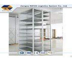 Customized Medium Duty Metal Storage Shelving For Goods Warehouse Pallet Racking
