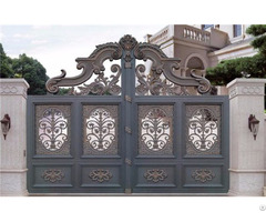 Yishu Metal Factory Made Custom As Your Style Aluminum Gate