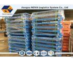 America Standard Size Rack Spare Parts Single Double Faced Steel Pallet