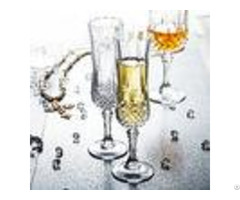 Celebration Champagne Wedding Wine Glasses Transparent Glass Cup With Lid
