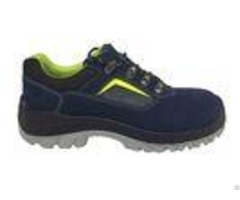 Executive Style Rubber Safety Shoes High Breathability Synthetic Overlays