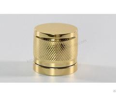 Golden Aluminum Perfume Cover Exporter