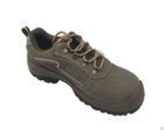Low Ankle Outdoor Work Safety Shoes Non Marking Rubber Outsole Breathable Design