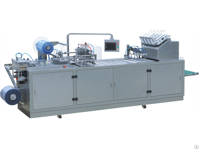 Dzp 500 Full Automatic Paper Pvc Blister Packaging Machine