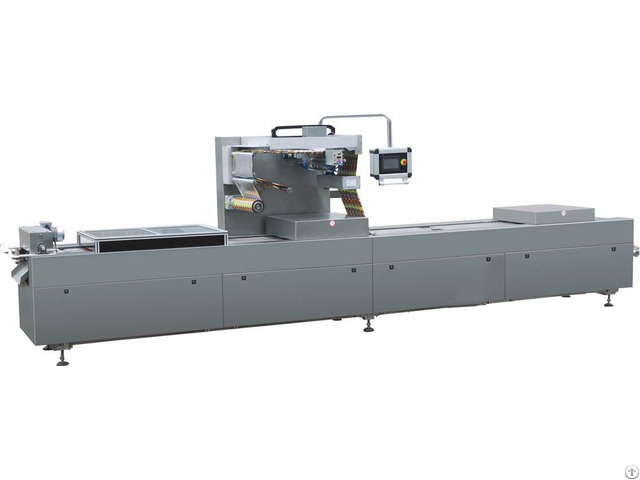 Ddlz 520 420 320 Full Automatic Continuous Drawing Vacuum Packaging Machine