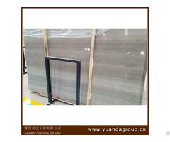 Wooden Grey Chinese Marble Big Slab Stone Form