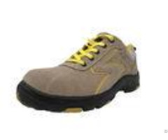 Formal Stitching Even Rubber Safety Shoes Lightweight Abrasion Resistant