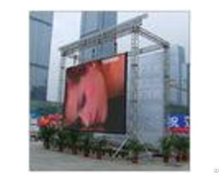 High Brightness Full Color Led Display Screen For Public Commercial Advertising Picture Vedio