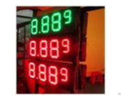 Multiple Size Led Gas Station Signs With Rear Front Access Single Double Side
