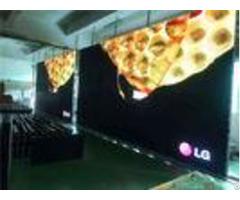 Dvi Vga Ultra Slim Rental Led Display Full Color Outdoor For Video Advertising Ip67