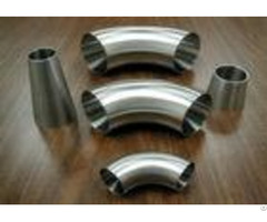 High Performance Din Sanitary Fittings Weld 90 Degree Elbows For Food Industrial