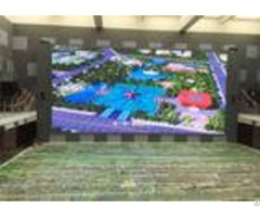 Foldable Led Screen Hd Floor Standing Player Rgb Outdoor For Retail Store Shopping Mall