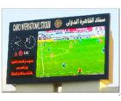 Mutil Color 8500 Cd Brightness Stadium Led Screens Commercial Panel Display Systems