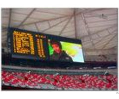 P20 Full Colors Stadium Led Display Video Boards Large Curved Monitor Wide View
