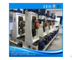 Full Automatic Tube Mill Equipment Directly Forming Plc Control Iso9001