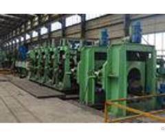 Directly Forming Square Tube Mill Customized Design Iso9001 For Machinery