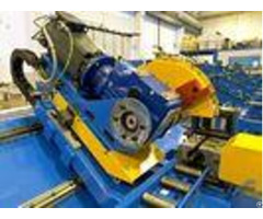 Steel Profiles Automated Cold Cut Pipe Saw Electric Parts Cutting Cost Saving