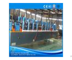 Plc Control Hf Erw Steel Pipe Mill Machine Cold Saw With 120m Min Speed