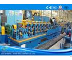 High Precision Steel Tube Mill Production Line Worm Gearing Friction Saw