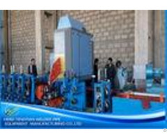 Galvanised Steel Square Tube Mill3 0mm Thick Plc Control Automatic Function