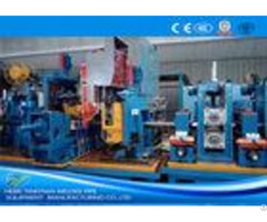 Welded Industrial Tube Mills Galvanised Steel Production Line 70m Min Running Speed