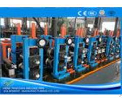 Adjusted Erw Tube Mill Production Line Energy Saving Blue Color Hg32