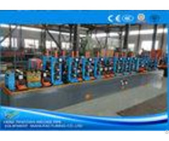 600kw Square Carbon Steel Tube Mill Pipe Milling Machine Max 100m Min