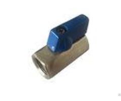 Iso9001 Ce 1 Inch Ball Valves Stainless Steel 304 Bsp Mm Threaded