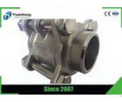 Butt Weld End 1000psi 3pc Ball Valve Stainless Steel 316 Material