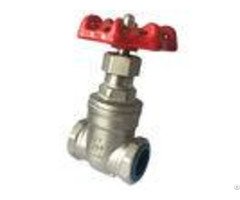 Dn15 1000 Psi Ansi Screwed Hydraulic Gate Valve 4 Inch Oem Service
