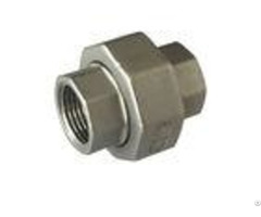 Mm Threaded 1 Inch 304 Stainless Steel Pipe Fitting 2 Mpa Npt Astm Standard Flat Union