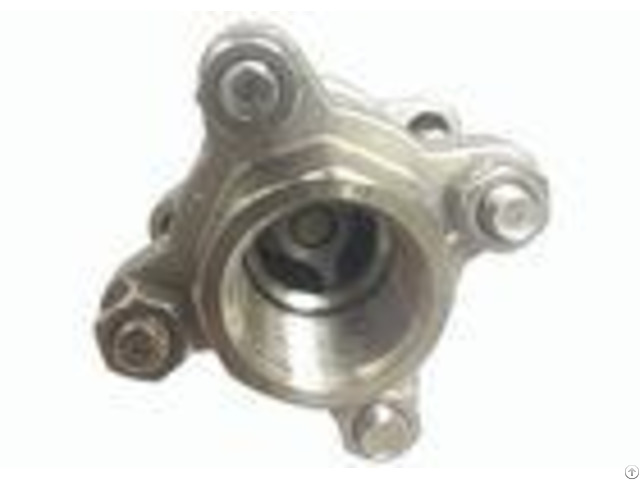 Cf8m 3pc Single Flow Check Valve Stainless Steel Vertical Type