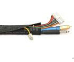 Expandable Velcro Cable Sleeve Fray Resistant Clean Cut Halogen Free